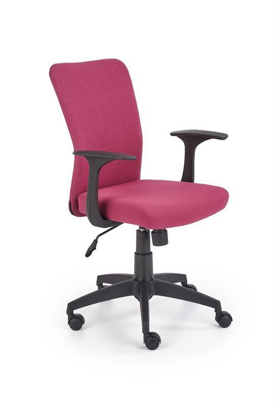 Кресло компьютерное NODY розовый (Halmar)
