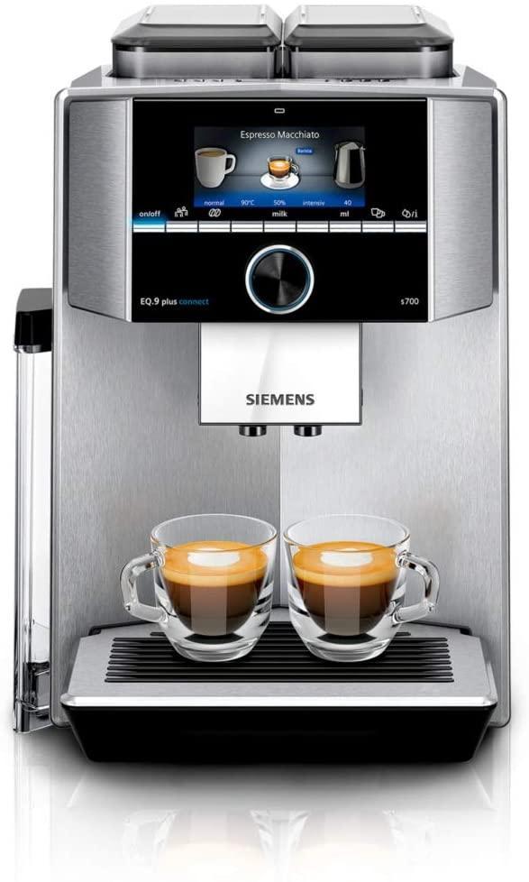 Автоматична Кофемашина Siemens EQ.9 plus connect s900 TI909701HC (Вітрина)