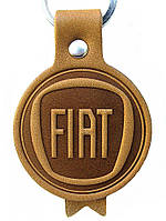 Автобрелоки из кожи Fiat Фиат брелки для ключей, фото 1