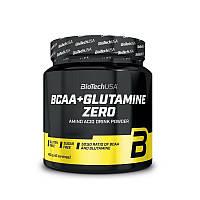 BCAA BioTech BCAA+Glutamine Zero, 480 грамм Персиковый чай