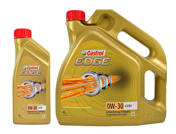 Моторне масло Castrol EDGE A3/B4 Titanium FST 0W-30 1 л