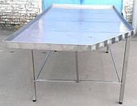 Формовочный стол производственный из нержавеющей стали