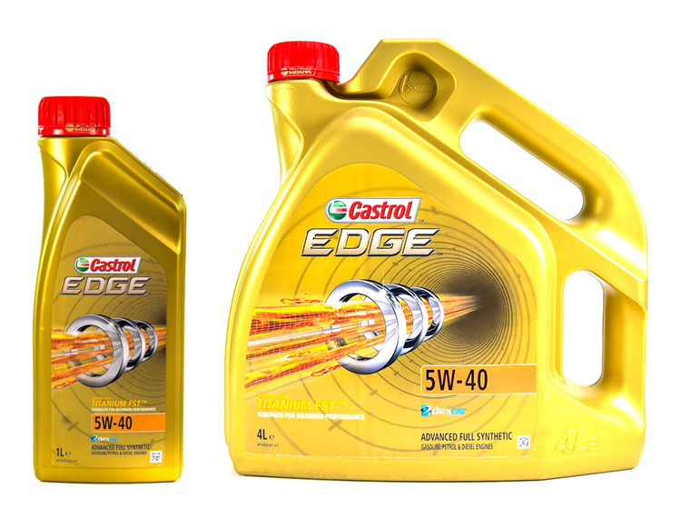 Моторне масло Castrol EDGE Titanium FST 5W-40-1 л