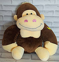 Игрушка горила внутри с пледом 110х160 см Х-888