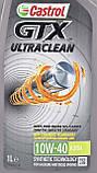 Моторное масло Castrol GTX Ultraclean A3/B4 10W-40 1 л, фото 3