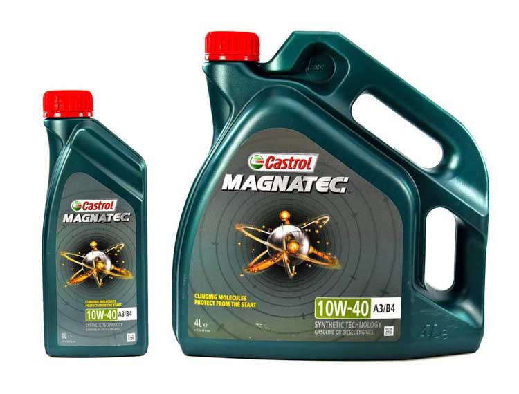 Моторне масло Castrol Magnatec A3/B4 10W-40 1 л