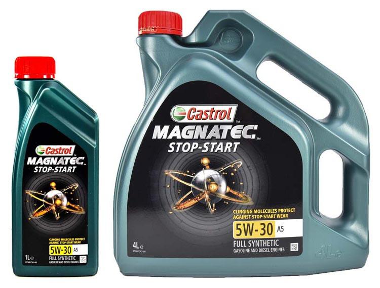 Моторное масло Castrol Magnatec Stop-start A5 5W-30 1 л