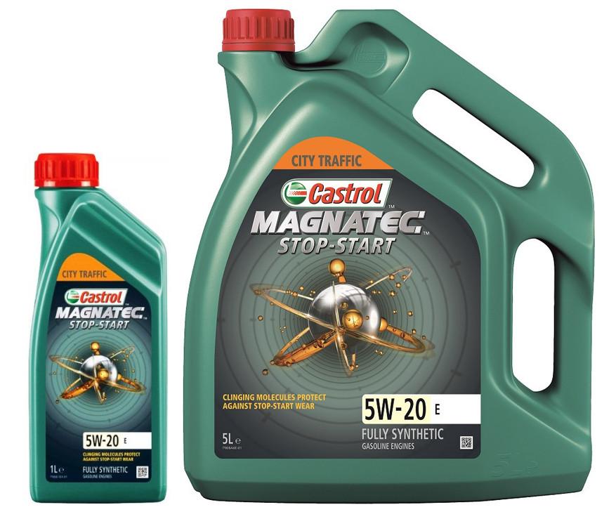 Моторное масло Castrol Magnatec Stop-Start E 5W-20 1 л