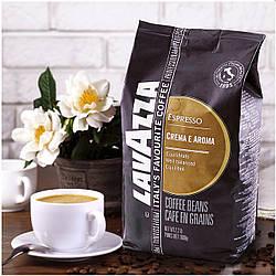 Кофе Зерновой Lavazza Espresso Crema Aroma 1 кг 80% Арабика, 20% Робуста