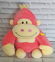 Игрушка горила  внутри с пледом 110х160 см Х-890