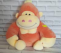 Игрушка горила  внутри с пледом 110х160 см Х-891