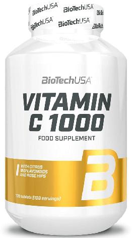 Витамин от BioTech Vitamin C 1000 100 таблеток, фото 2