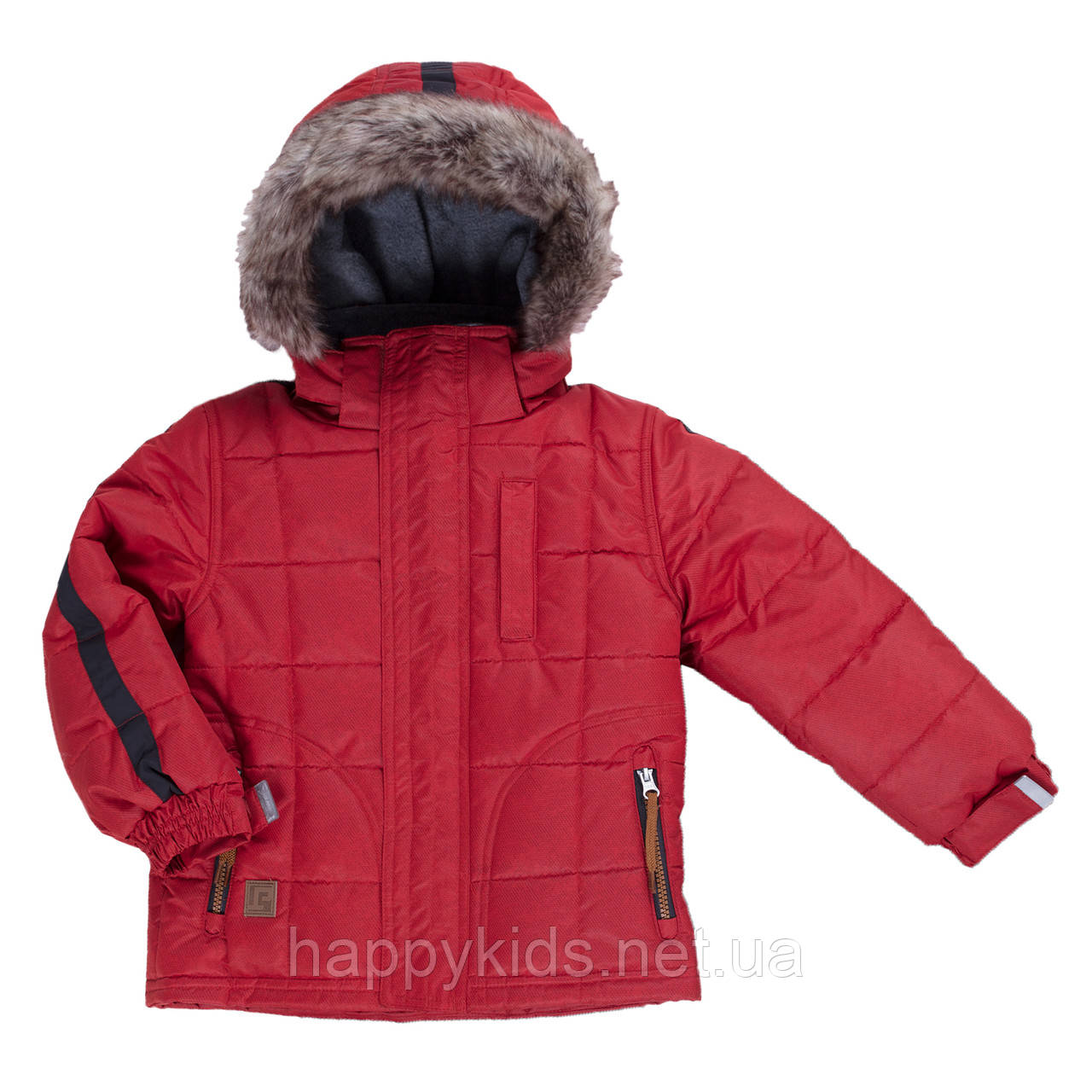 Зимняя куртка для мальчика Peluche&Tartine F19MS55EG OldCarrot. Размеры 3 - 8 лет.