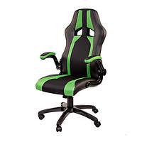 Крісло комп'ютерне Miscolc чорно/зелене