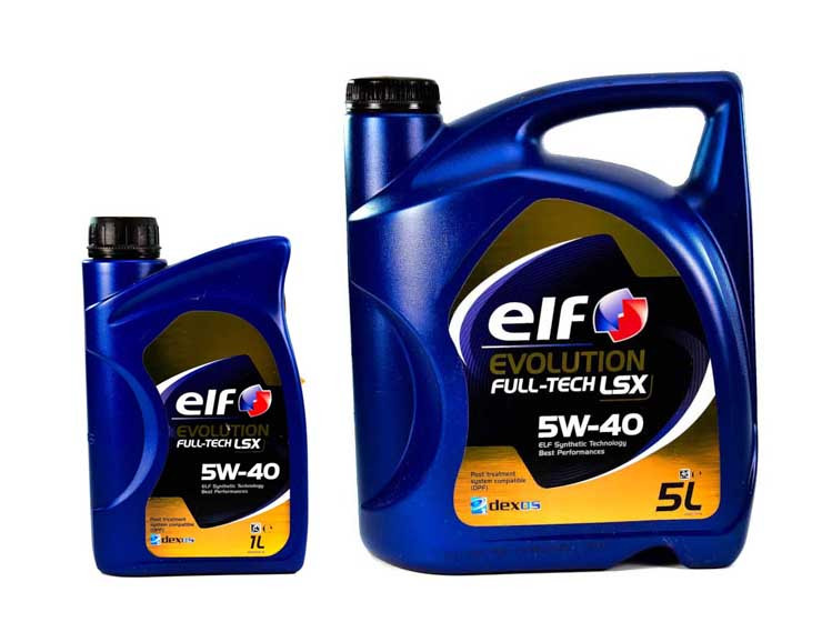 Моторное масло Elf Evolution Full-Tech LSX 5W-40 1 л