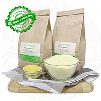 Пшенная цельнозерновая жорновая мука 0.5 кг сертифицированная без ГМО