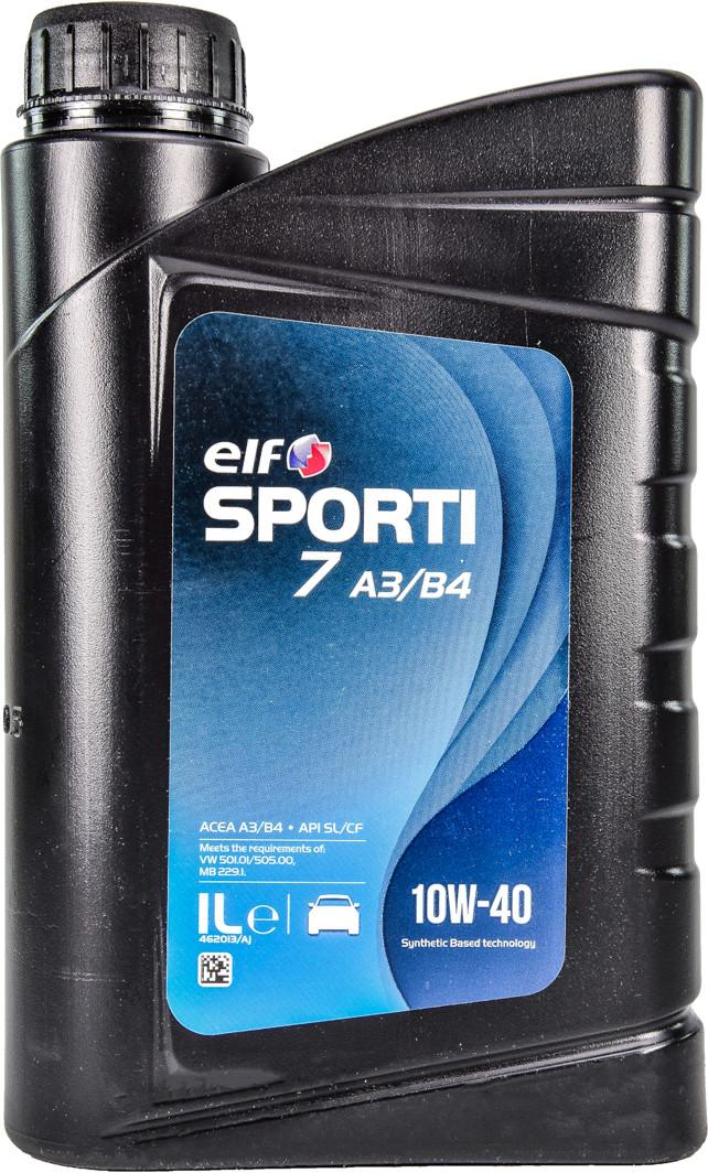 Моторне масло Elf Sporti 7 A3/B4 10W-40 1 л