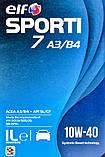 Моторне масло Elf Sporti 7 A3/B4 10W-40 1 л, фото 2