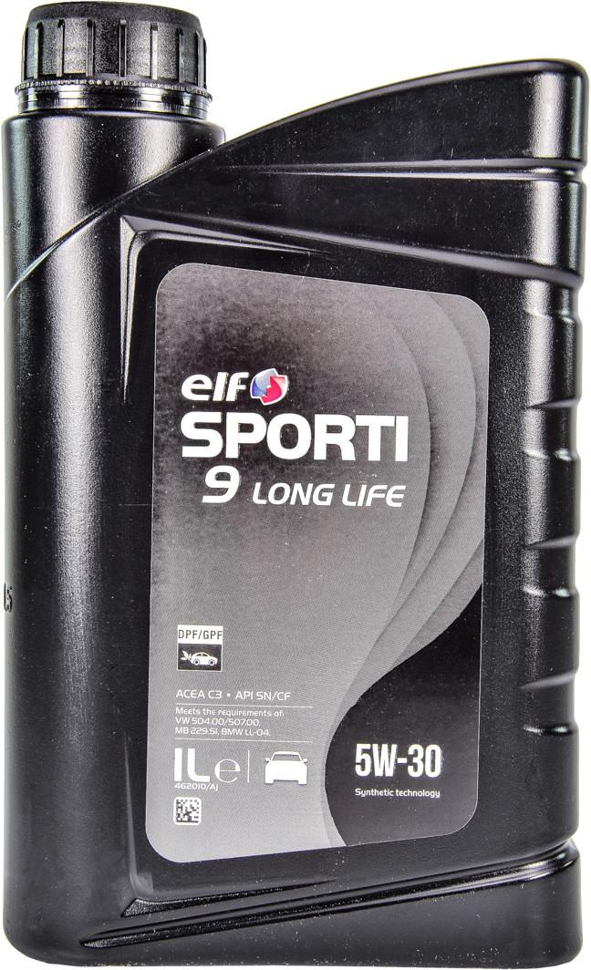Моторное масло Elf Sporti 9 Long Life 5W-30 1 л