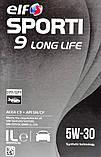 Моторне масло Elf Sporti 9 Long Life 5W-30 1 л, фото 2