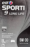 Моторное масло Elf Sporti 9 Long Life 5W-30 1 л, фото 2