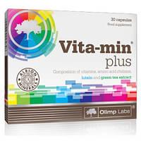 Витамины и минералы Olimp Vita-min Plus, 30 капсул