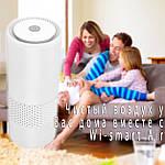Очиститель воздуха ионизатор Wi-smart Air портативный для автомобиля, комнаты, офиса, детской, фото 3