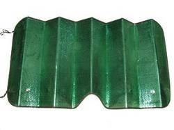 Шторка на лобовое стекло зеленая 1300х600 см
