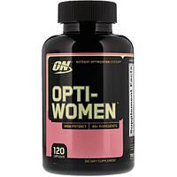 Витамины и минералы Optimum Opti-Women, 120 капсул