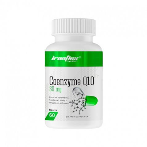 Витамины и минералы IronFlex Coenzyme Q10 30 mg, 60 таблеток