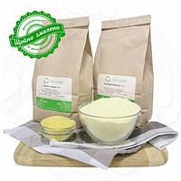 Пшоняне цільнозернове жорнове борошно 20 кг сертифіковане без ГМО