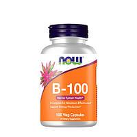 Витамины и минералы NOW B-100, 100 вегакапсул