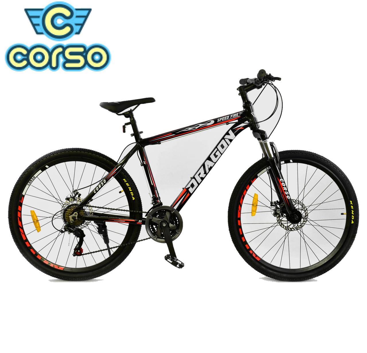 Велосипед Спортивный CORSO DRAGON 26 дюймов