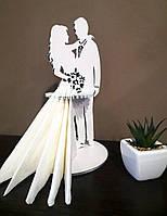 """Салфетница """"Жених и Невеста"""", фото 1"""