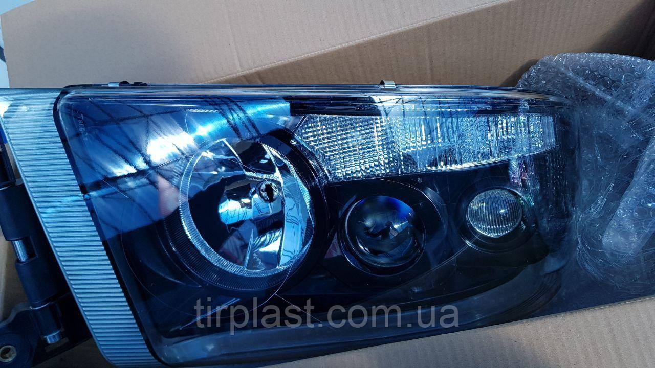 Фара Renault Premium DXI Black Edition черная рено премиум