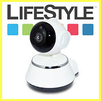 Поворотная Wi-FiIP камера видеонаблюдения Smart NET Q6