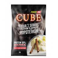 Заменитель питания Power Pro Каша Cube злаки с протеином 30%, 50 грамм - яблоко-корица