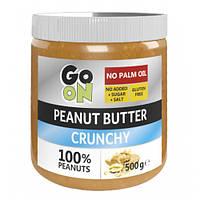 Заменитель питания GoOn Peanut butter, 500 грамм (Crunchy) - стекло