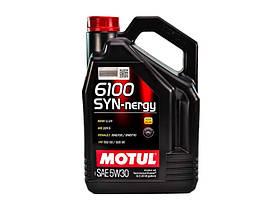Моторное масло Motul 6100 SYN-nergy 5W-30 5 л