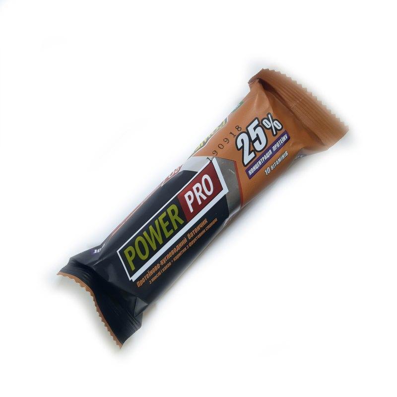 Батончик Power Pro 25%, 60 грамм - какао