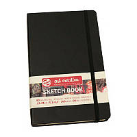 Блокнот для графіки Talens Art Creation 140г/м, 13х21см, 80л, чорний, Royal Talens