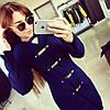 Молодежное женское пальто 01