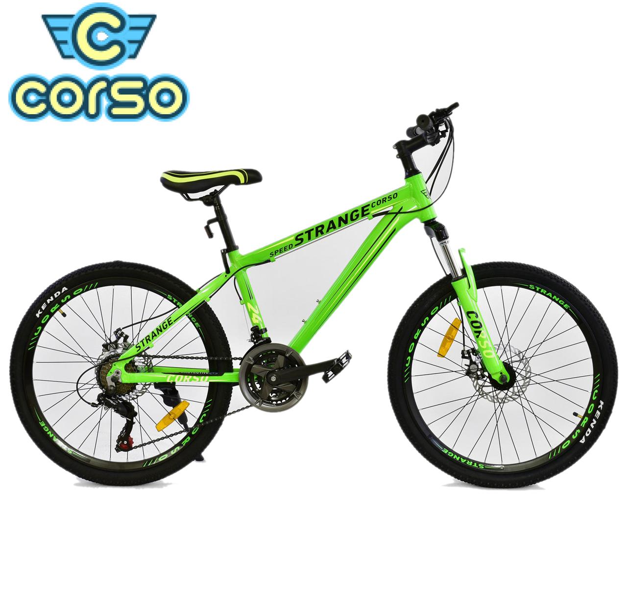 Велосипед Спортивный CORSO STRANGE 24 дюйма