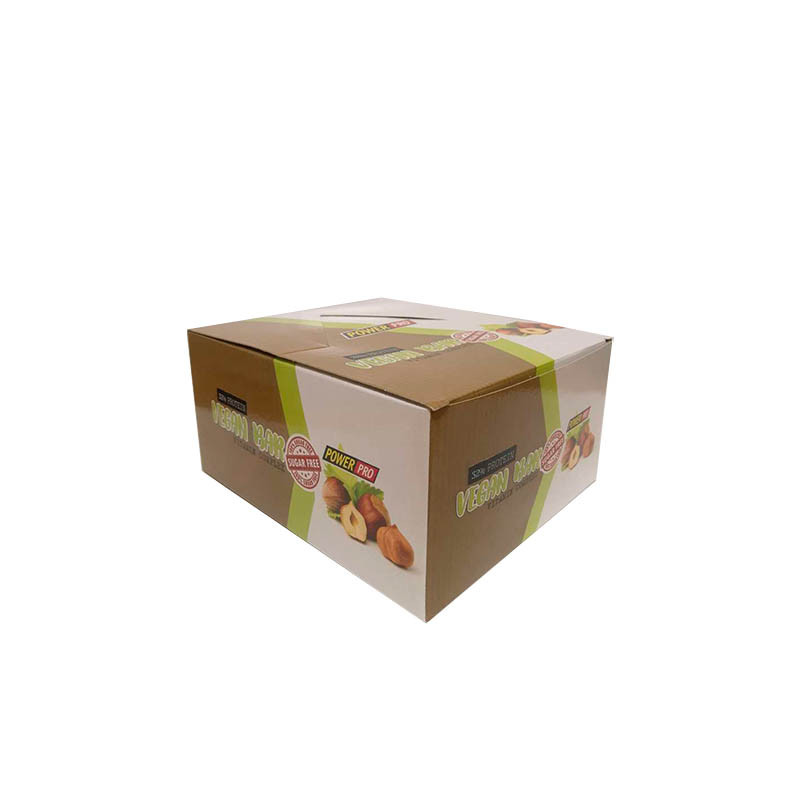 Батончик Power Pro Vegan Bar Sugar Free 60 гр, 20 шт/уп - орехи и сухофрукты