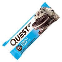 Батончик Quest Nutrition Protein Bar, 60 грамм Печенье с кремом