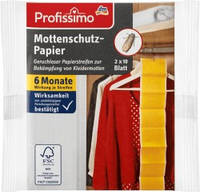 Засіб від молі Profissimo Mottenschutz-Papier 2шт.