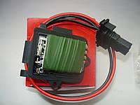 Резистор печки (реостат +A/C) Renault Trafic / Vivaro 1.9dci 01> (AKKUSAN TR1125)