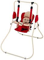 Качель напольная Babyroom Casper красный-бежевый