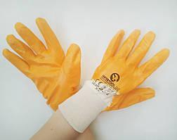 """Перчатки нитриловые """"Intertool"""" желтые, размер 10"""