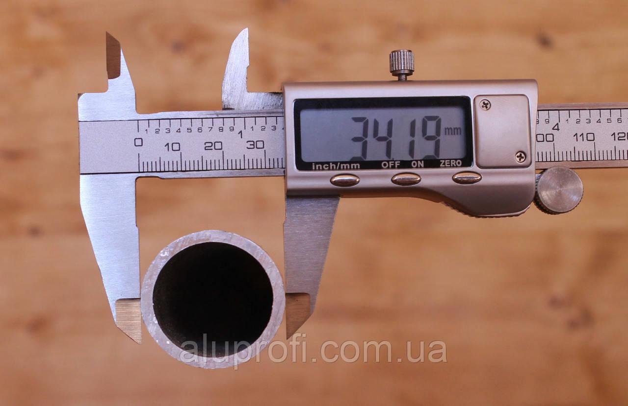 Труба  алюминиевая ф 34мм (34х7) АД31